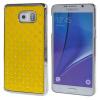 MOONCASE Samsung Galaxy Note 5 ЧЕХОЛДЛЯ Bling Chrome Hard Back Yellow mooncase litchi skin золото chrome hard back чехол для cover samsung galaxy s6 edge красный
