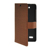 MOONCASE Slim Leather Side Flip Wallet Card Slot Pouch with Kickstand Shell Back чехол для Huawei Honor Holly Brown mooncase slim leather side flip wallet card slot pouch with kickstand shell back чехол для samsung galaxy a7 brown