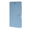 MOONCASE Matte Skin Flip Leather Wallet Card Slot Stand Back чехол для Sony Xperia M4 AQUA Blue mooncase simple leather flip wallet card slot stand back чехол для sony xperia m4 aqua black