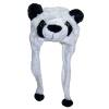 MyMei малыша мультфильм животных Hat плюшевые шапочки флис зимние теплые пушистые с капюшоном Cap наушник наушник