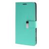 MOONCASE чехол для Sony Xperia T3 Flip Leather Wallet Card Slot Bracket Back Cover Green чехол вертикальный откидной для sony xperia t3 синий armorjacket