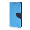 MOONCASE Cross pattern Leather Wallet Flip Card Slot Pouch Stand Shell Back ЧЕХОЛДЛЯ Sony Xperia T3 Blue mooncase classic cross pattern leather side flip wallet card pouch stand soft shell back чехол для sony xperia e1 hot pink