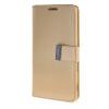 MOONCASE чехол для Sony Xperia T3 Flip Leather Wallet Card Slot Bracket Back Cover Gold чехол вертикальный откидной для sony xperia t3 синий armorjacket