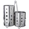 Jirui Хранение / Полка из нержавеющей стали Rack Комбинация Набор посуды Набор из трех частей