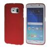 MOONCASE Жесткий Прорезиненные Резина Оболочка Вернуться Защитная крышка чехол для Samsung Galaxy S6 Edge красный