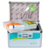 Longxing (Glosen) R8033 алюминиевая аптечке 16 дюймов портативный ящик для хранения дома здоровья longxing glosen b016 3 алюминиевый комплект двойной помощи 16 дюймов семейной медицины шкаф хранения коробка