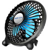Oaks (AUX) 4A8 USB-вентилятор Mini Computer Fan USB Mini Silent Desktop Small Fan Black