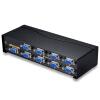 Шэн (Shengwei) VS-5008 VGA дистрибьютор восемь одна точка экрана восемь провод телевидения высокой четкости видео компьютер делитель 1 прицеп 8 500MHZ stuhrling 5008 1