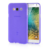 MOONCASE Transparent Soft Flexible Silicone Gel TPU Skin Shell Back ЧЕХОЛ ДЛЯ Samsung Galaxy E7 Purple mooncase s line soft flexible silicone gel tpu skin shell back чехол для htc one m9 blue
