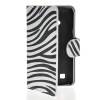 MOONCASE Zebra style Leather Side Flip Wallet Card Slot Stand Pouch чехол для LG L50