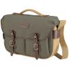 Букингемский (Billingham) Hadley Pro Классический унисекс сумка камера машина с два зеркала вспышки (серо-зеленый сторона хаки / коричневый Pini длинный абзац)