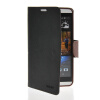 MOONCASE Classic cross pattern Leather Side Flip Wallet Slot Pouch Stand Shell Back ЧЕХОЛ ДЛЯ HTC Desire 816 Black Brown mooncase classic cross pattern leather side flip wallet card pouch stand soft shell back чехол для motorola moto g black