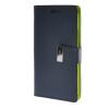 MOONCASE чехол для HTC One M8 Flip Leather Wallet Card Slot Bracket Back Cover Blue htc one m8 16gb купить дешево
