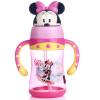 [Супермаркет] Джингдонг Дисни детских пластиковых стаканчиков двойной ручки солома материал Тритан стакан воды 300ML розовый принцесса