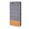 MOONCASE Canvas Design Leather Side Flip Wallet Pouch Stand Shell Back ЧЕХОЛДЛЯ Samsung Galaxy S5 Dark Brown mooncase canvas design leather side flip wallet pouch stand shell back чехолдля samsung galaxy s6 edge dark brown