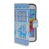 MOONCASE Pattern Style Leather Side Flip Wallet Card Slot Pouch Stand Shell Back ЧЕХОЛДЛЯ Samsung Galaxy S5 Mini чехол для samsung galaxy s5 printio череп художник