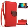 MOONCASE ремешок на запястье кожа Flip бумажник, слот для карт памяти и вернуть дело для покрытия Xiaomi Hongmimi 2 / 2A (4.7 inch)