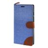 MOONCASE ASUS Zenfone 5 , Leather Wallet Flip Card Holder Pouch Stand Back ЧЕХОЛ ДЛЯ ASUS Zenfone 5 A501CG Blue asus zenfone zoom zx551ml 128gb 2016 black