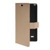 MOONCASE Slim Leather Side Flip Wallet Card Slot Pouch with Kickstand Shell Back чехол для LG G3 Stylus / D690 Beige сотовый телефон lg stylus 3 m400dy