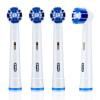 Braun Oral B EB20-4 насадки для электрической зубной щетки 4 штуки насадки для зубной щетки oral b eb30