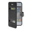 MOONCASE View Window Leather Side Flip Pouch Stand Shell Back ЧЕХОЛ ДЛЯ Apple iPhone 4 / 4S Black mooncase view window leather side flip pouch stand shell back чехол для apple iphone 4 4s blue