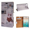MOONCASE Huawei Honor 7i ЧЕХОЛДЛЯ Flip Wallet Card Slot Stand Leather Folio Pouch /a09 world map card holder slot folio stand