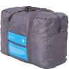 马洛里折叠旅行包 收纳包收纳袋手提行李袋大容量登机包 可套拉杆箱洗漱包蓝色