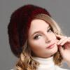 с 2015 года в классическом стиле норка меха фур берет шапку