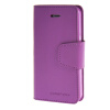MOONCASE чехол для iPhone 5G / 5S PU Leather Flip Wallet Card Slot Stand Back Cover Purple mooncase чехол для iphone 6 plus 5 5 pu leather flip wallet card slot stand back cover blue