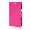 MOONCASE High quality Leather Wallet Flip Card Slot Pouch Stand Shell Back ЧЕХОЛДЛЯ LG L80 Hot pink mooncase high quality leather wallet flip card slot pouch stand shell back чехолдля lg g2 mini brown