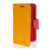 MOONCASE Classic cross pattern Leather Side Flip Wallet Card Pouch Stand Soft Shell Back чехол для Motorola Moto E Yellow mooncase classic cross pattern leather side flip wallet card pouch stand soft shell back чехол для sony xperia m2 azure