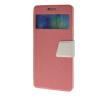 MOONCASE View window Leather Wallet Flip Stand Pouch чехол для Samsung Galaxy A7 Pink roar korea noble leather stand view window case for iphone 7 4 7 inch orange