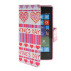MOONCASE Pattern Style Leather Side Flip Wallet Card Slot Pouch Stand Shell Back ЧЕХОЛДЛЯ Nokia Lumia 520 luxury stand flip