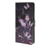 MOONCASE Butterfly style Leather Wallet Flip Card Slot Stand Pouch чехол для ASUS Zenfone 5 A501CG A13 mooncase owl style leather wallet flip card slot stand pouch чехол для asus zenfone 5 a501cg a14