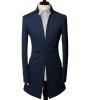 zogaa мужской костюм средней длины пальто пальто metz средней длины
