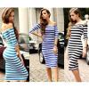 cailand длинное платье Тонкий полосатый длинное платье