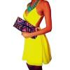 Lovaru ™ 2015 Летний стиль женщин моды платье без рукавов мини спинки высокое качество Мягкие и удобные платья горячей продажи платье conquista платья и сарафаны мини короткие