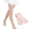 Чехия литров обновленная версия Баллет Герлс носки танец носки детские танцы практика носки колготки бархат чулки белый XL код