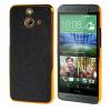 MOONCASE Flash Flake Skin золото Chrome Hard Back чехол для Cover HTC One E8 чёрный htc чехол для htc one e8