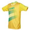 YONEX Мужские и женские спортивные футболки с коротким рукавом для игры в бадминтон