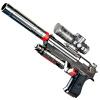 Duron ZUANLONG черного золота Shamozhiying электрический огневые всплески воды может быть дробовые снаряды нагнетаемой воды игрушечный пистолет mc2 игрушечный детектор лжи