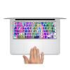 GEEKID@ Макбук Эйр 13 клавиатура наклейка нам красочный стиль с Retina 13 индивидуальных ключей наклейку кожи протектор