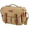 Букингемский (Billingham) Hadley Pro классического сумка серии плечо камеры машина с два зеркальными вспышкой (хаки / коричневый кожаный холст пункт)