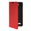 MOONCASE Slim Leather Side Flip Wallet Card Slot Pouch with Kickstand Shell Back чехол для Huawei Honor Holly Red mooncase slim leather side flip wallet card slot pouch with kickstand shell back чехол для huawei ascend g7 purple