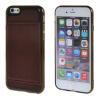 MOONCASE iPhone 6 Plus (5,5 ) Кожа карты кожи чехол + силиконовый гель ТПУ Тонкий прочный чехол Обложка Кларе mooncase iphone 6 4 7 чехол гибкая мягкий гель тпу силиконовая кожа тонкий прочный чехол для apple iphone 6 4 7 сапфир