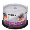 Philips (PHILIPS) DVD-R 16 может печатать скорость 4,7 г диски ствол 50 philips philips dvd r dl 8 скоростные двусторонние диски 8 5gb 10 packed