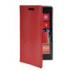 MOONCASE Slim Leather Side Flip Wallet Card Slot Pouch Stand Shell Back ЧЕХОЛДЛЯ Nokia Lumia 930 Red чехол nillkin для nokia lumia 930