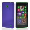 MOONCASE Hard Rubberized Rubber Coating Devise Back чехол для Nokia Lumia 630 Purple