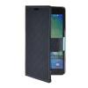 все цены на MOONCASE кожи высокого качества Сторона Флип кошелек карта с Kickstand чехол для Samsung Galaxy А5 темно-синий онлайн