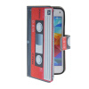 MOONCASE Pattern Style Leather Side Flip Wallet Card Slot Pouch Stand Shell Back ЧЕХОЛДЛЯ Samsung Galaxy S5 Mini promate tava s5 чехол для samsung galaxy s5 blue